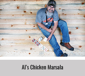 Al-Shares-his-Chicken-Marsala-Recipe-for-the-StickerGiant-2020-Cookbook