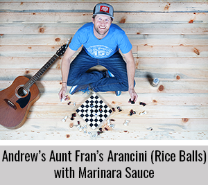 Andrew-Shares-his-Arancini-Rice-Balls-with-Marinara-Sauce-Recipe-for-the-StickerGiant-2020-Cookbook