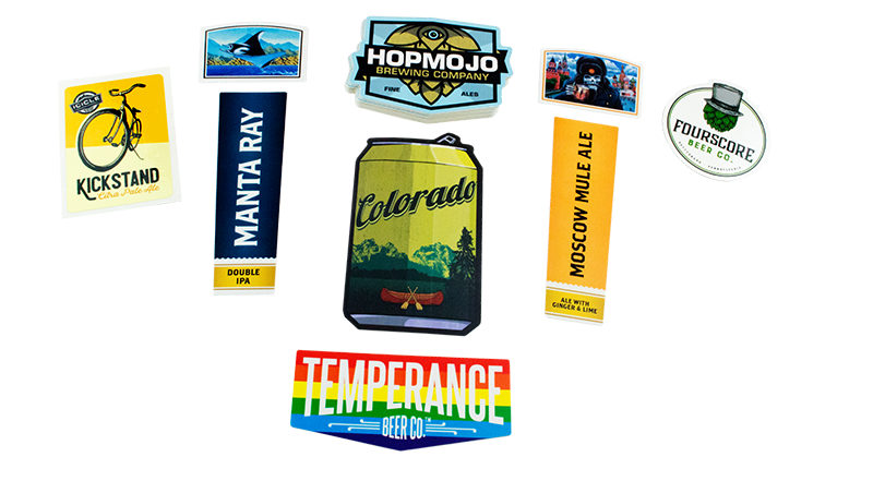 StickerGiant Beer Label Examples