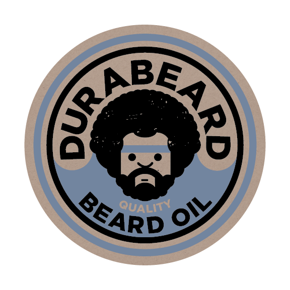 Example-of-Recycled-Kraft-Paper-Labels-with-Durabeard-Beard-Oil-Design
