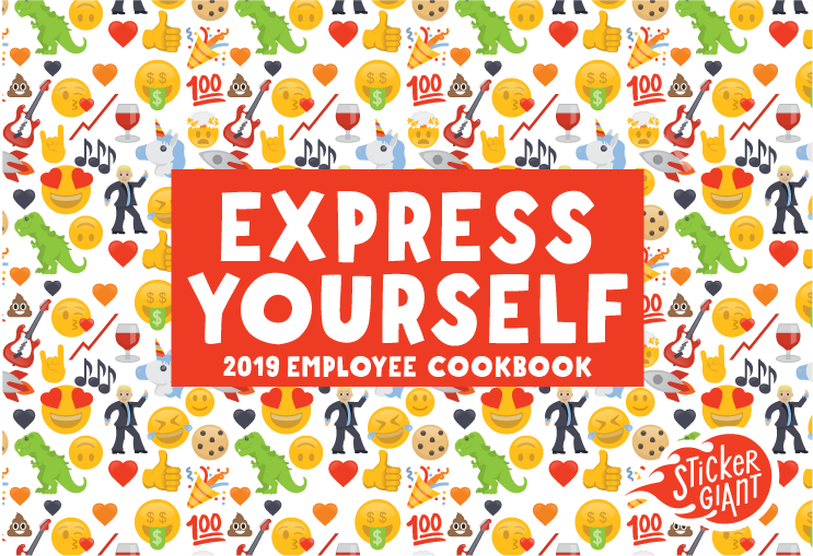 Express-Yourself-2019-Cookbook-from-StickerGiant