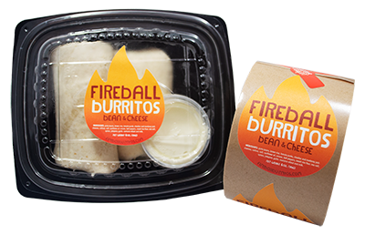 Fireball-Burritos-with-custom-Matte-Paper-Labels-on-a-roll-printed-by-StickerGiant