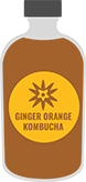 Graphic-of-Kombucha-Juice-with-a-Clear-Label-for-Food-Labels-page-on-StickerGiant-site