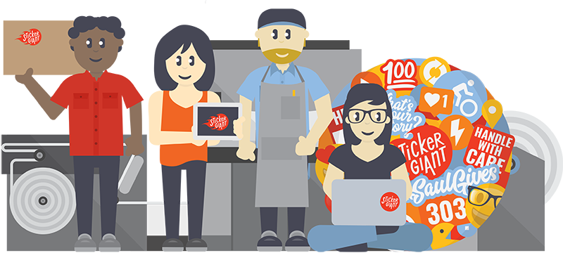 Graphic-of-People-Working-for-Jobs-Page-at-StickerGiant_com
