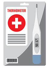 Graphic-of-a-Thermometer-with-custom-labeling-to-show-an-example-of-how-custom-labels-can-be-used-for-packaging-medical-devices-with-custom-labels-printed-at-StickerGiant