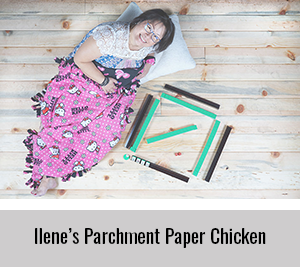 Ilene-Parchment-Paper-Chicken-for-StickerGiant-Cookbook