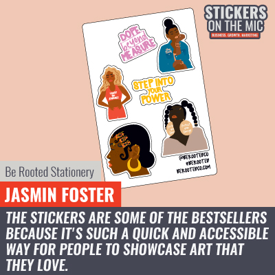 Jasmin Foster of Be Rooted - 2