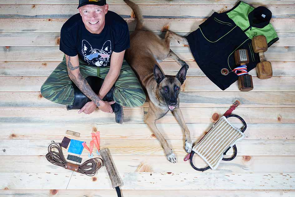 John-Fischer-CEO-and-Founder-of-StickerGiant-with-his-Dog-Nick