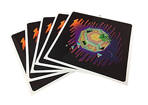 Custom Shaped Stickers from StickerGiant