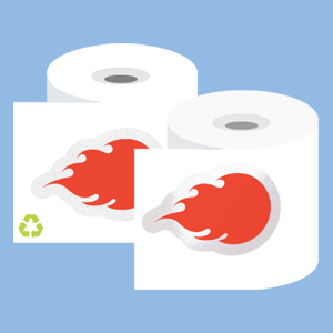 Custom-Paper-are-Finished-on-a-Roll-at-StickerGiant