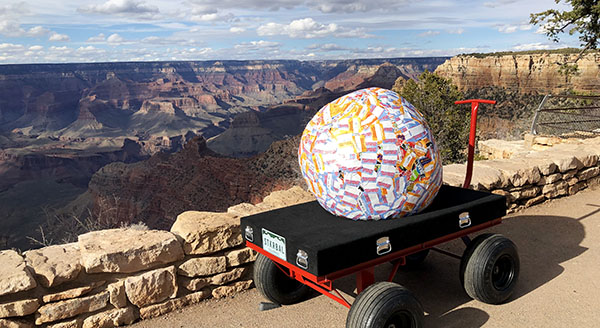 Saul-the-World_s-Largest-Sticker-Ball-Sees-the-Grand-Canyon-on-His-Excellent-Adventure-with-StickerGiant
