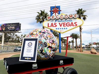 Saul-the-World_s-Largest-Sticker-Ball-Stops-in-Las-Vegas-NV-on-His-Excellent-Adventure-with-StickerGiant