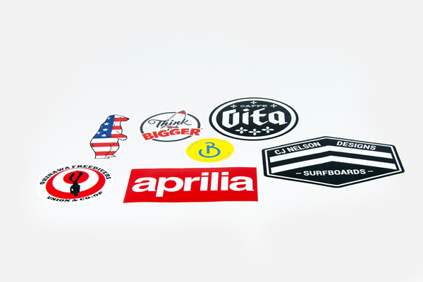 silkscreen sticker examples