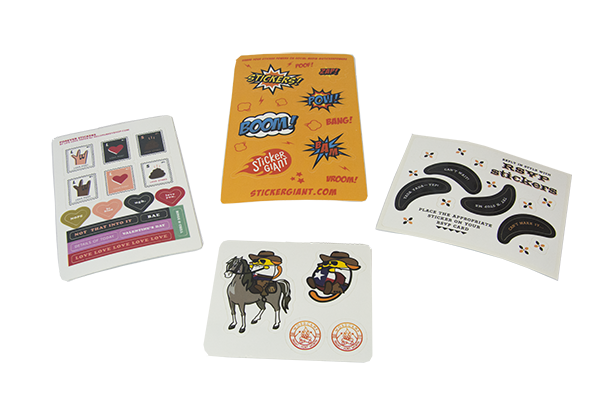Sticker Sheets from StickerGiant come in your custom shapes and sizes