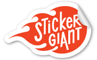 StickerGiant Art Services Final Sticker Example