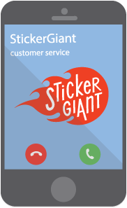 StickerGiant-Contact-Us-Image-of-Phone-with-Logo