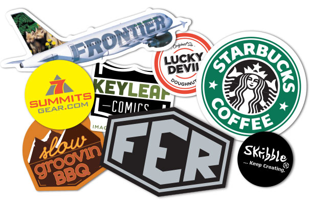 Custom Logo Stickers