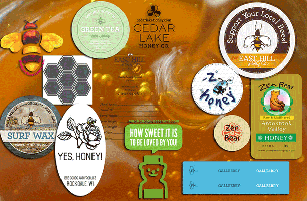 Custom Honey Stickers And Labels StickerGiant - Custom stickers and labels