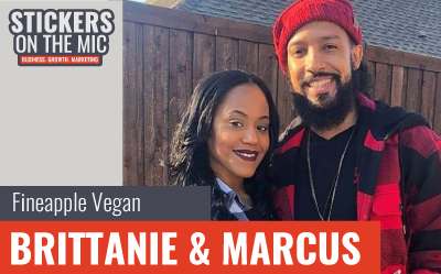 Brittanie and Marcus Fineapple Vegan