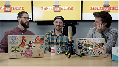 Stickers-on-the-Mic-Podcast-with-Jesse-from-the-StickerGiant-Marketing-Team-Talking-National-Sticker-Day-2018-Podcast-Hero-Image