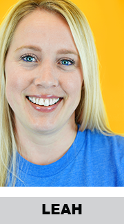 Leah on the Customer Success Team at StickerGiant