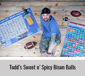 Todd-Shares-his-Sweet-n-Spicy-Bison-Balls-Recipe-for-the-StickerGiant-2020-Cookbook