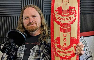 Travis-Towe-with-StickerGiant-Art-Team-Talks-Designing-Skateboards-with-Satelite-Boardshop-in-Boulder-CO